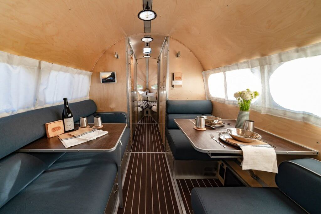Birch Wood Interior - Travel Trailer