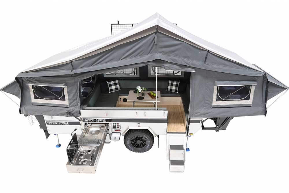 2020 Black Series Small Camping Trailer