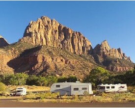 RV at Zion National Park