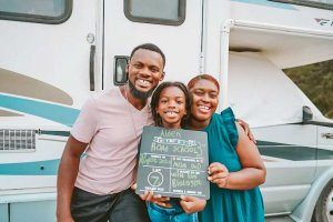 RV road trip with kids and school
