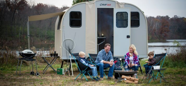 2020 Fold Down Camping Trailer