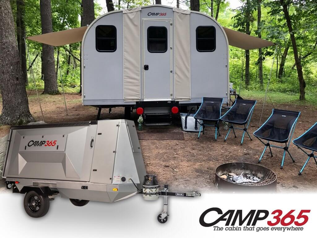 Camp 365 fold down trailer