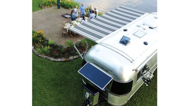 luxury airstream camping