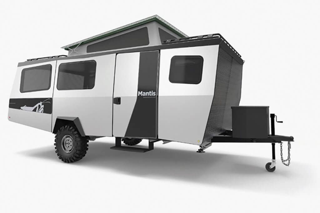mantis fold down trailer camper
