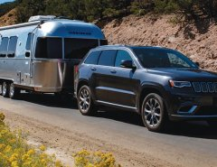 Airstream RV with office